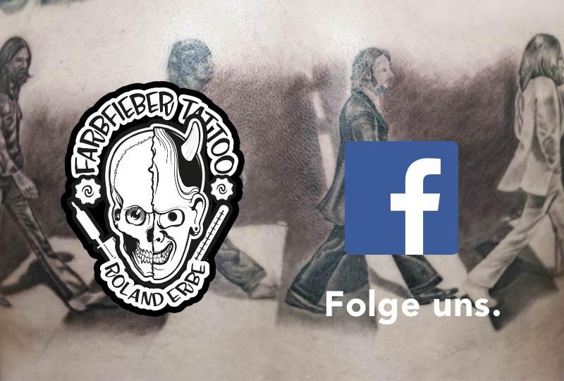 Folge Farbieber Tattoo auf Facebook