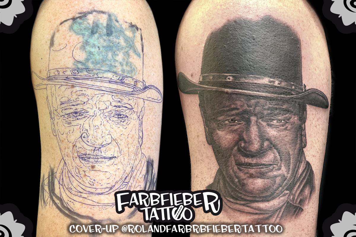 Cover Up von Farbfieber Tattoo - Roland Erbe