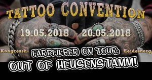 Farbfieber on Tour - Heidelberg Tattoo Convention