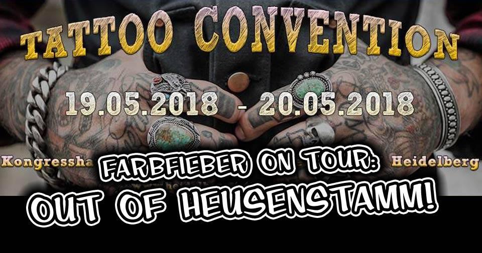 Farbfieber Tattoo goes Heidelberg!