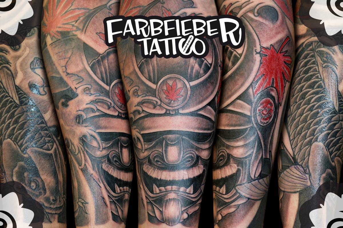 roland-farbfieber-tattoo-maske-unterarm