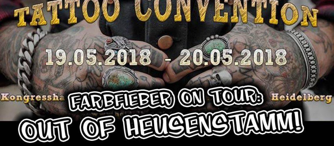 Farbfieber on Tour - Heidelberg Tattoo Convention